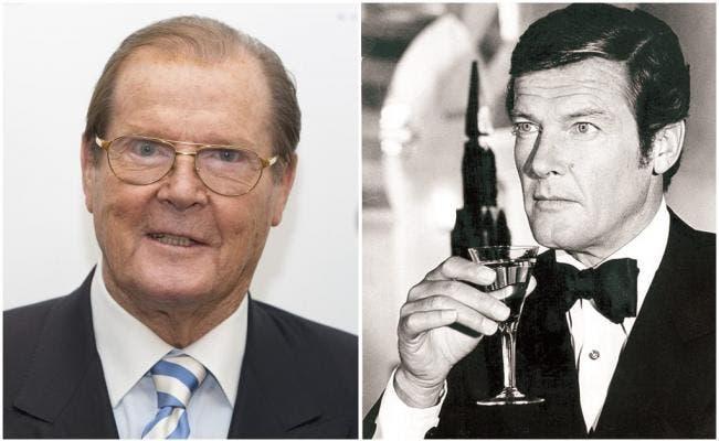 Muere Roger Moore, el actor de James Bond y «El Santo»