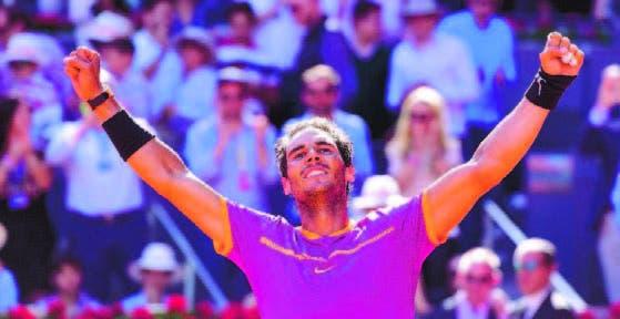 Nadal corta  la sequía y logra título en Tenis