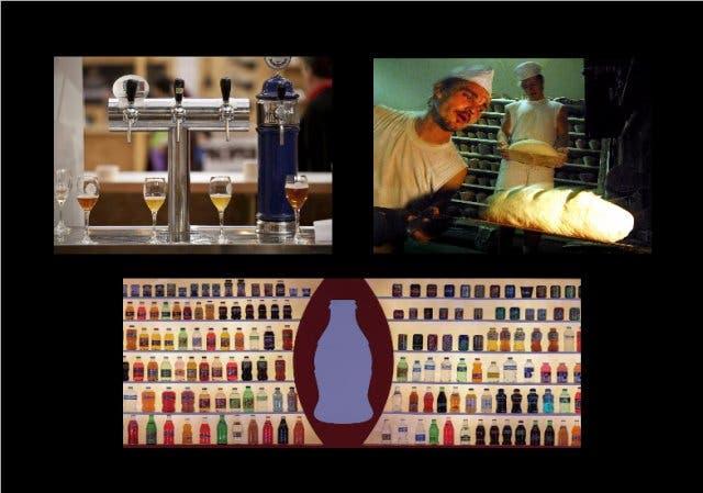 Cerveza, pan blanco, bebidas azucaradas...alimentos que disparan la obesidad. EFE.