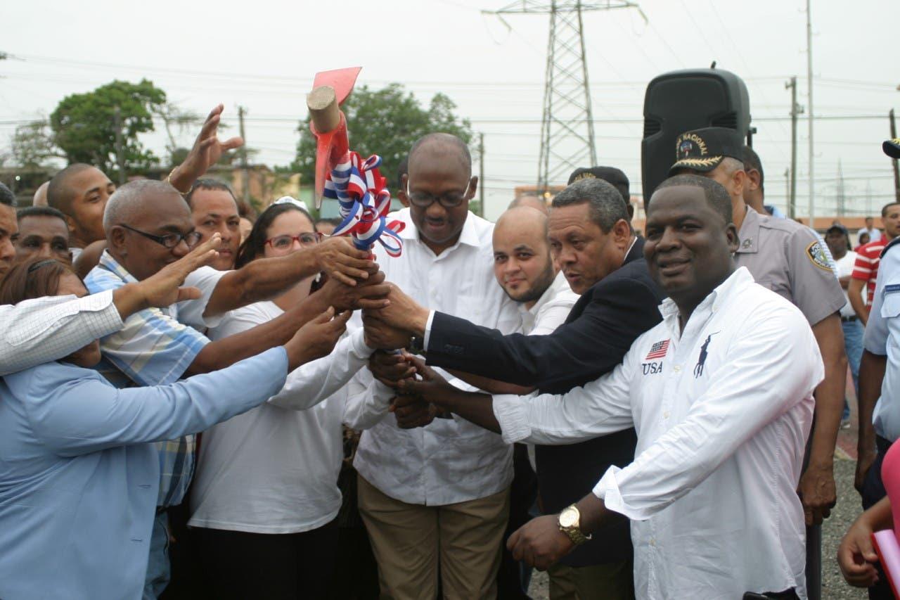 Construirán dos obras en SDE con inversión de 30 millones