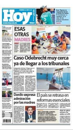 portada Hoy domingo 28 mayo 2017
