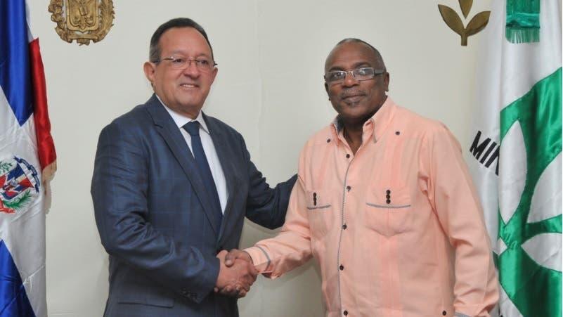 Ministros de Agricultura de Haití y RD tratan en reunión mejora en relaciones bilaterales