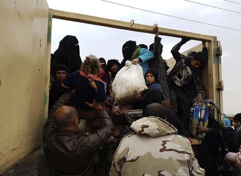 Más de 700.000 desplazados desde el inicio de la ofensiva en el oeste de Mosul