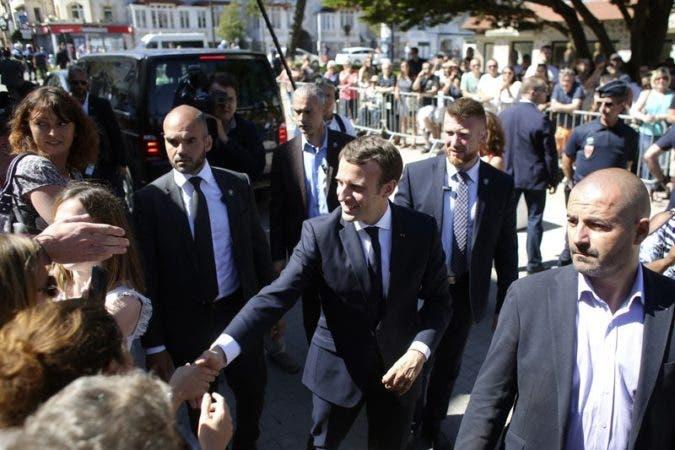 El partido de Macron ganó la primera vuelta de las parlamentarias