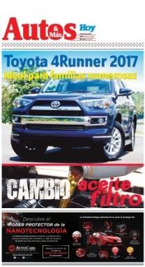 Autos y Más. Miércoles 14 de junio del 2017