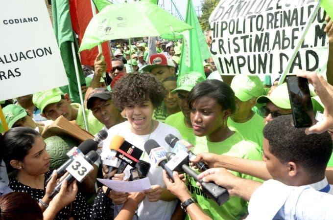 La próxima actividad de movilización de la Marcha Verde será el domingo 11 de junio en San Pedro de Macorís.