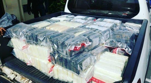 DNCD decomisa 394 paquetes de droga en Puerto Multimodal Caucedo