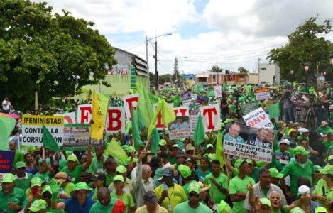 Marcha Verde reclamará mañana salida de Odebrecht frente a Punta Catalina