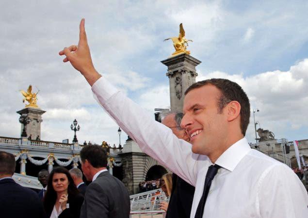 Macron invita a Trump a asistir al desfile del 14 de Julio en Francia