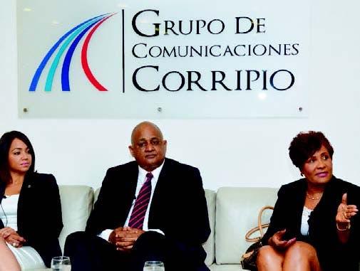 Faride Raful, Roberto Fulcar y Josefa Castillo