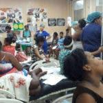 El presidente de Colegio Médico, el doctor Waldo Ariel Suero denuncio el estado del Hospital de la Maternidad la Altagracia Santo Domingo República Dominicana. 27 de junio del 2017. Foto fuente extena
