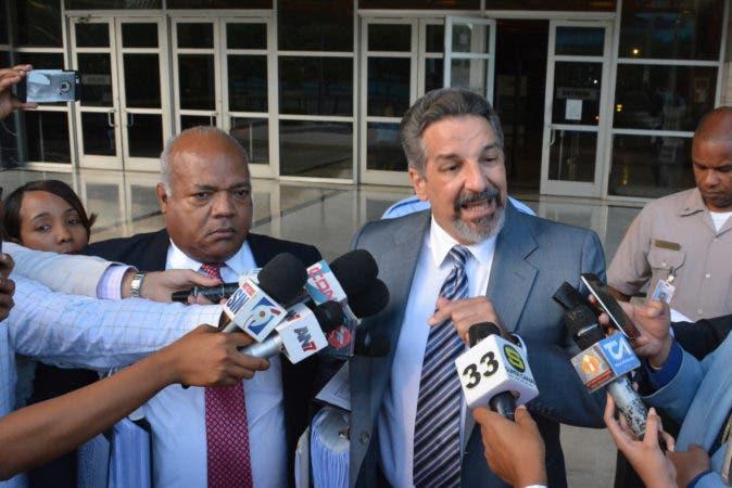 El exdirector de la Corporación Dominicana de Empresas Estatales (Corde) Leoncio Almánzar.