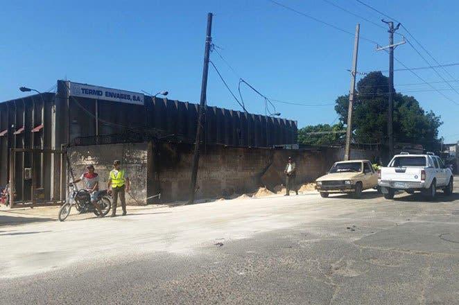 Empresa Termo Envase reanuda sus operaciones tras resultar afectada por fuego en Haina