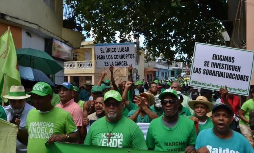 Marcha Verde anuncia movilizaciones este domingo en Cristo Rey y Navarrete