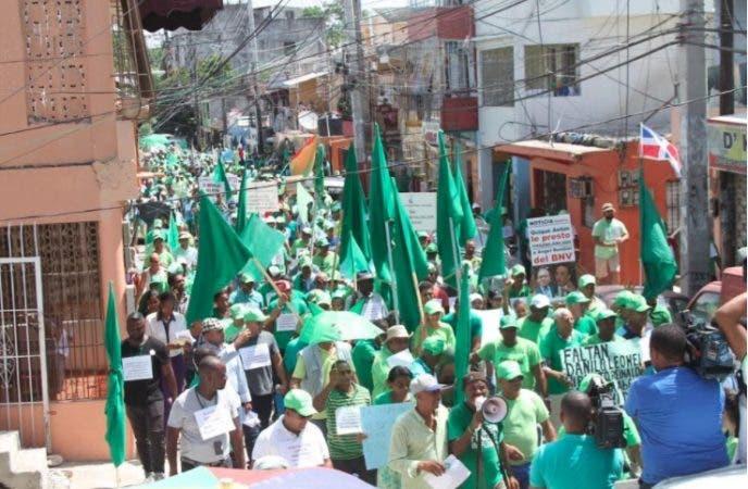 Marcha Verde Cristo Rey