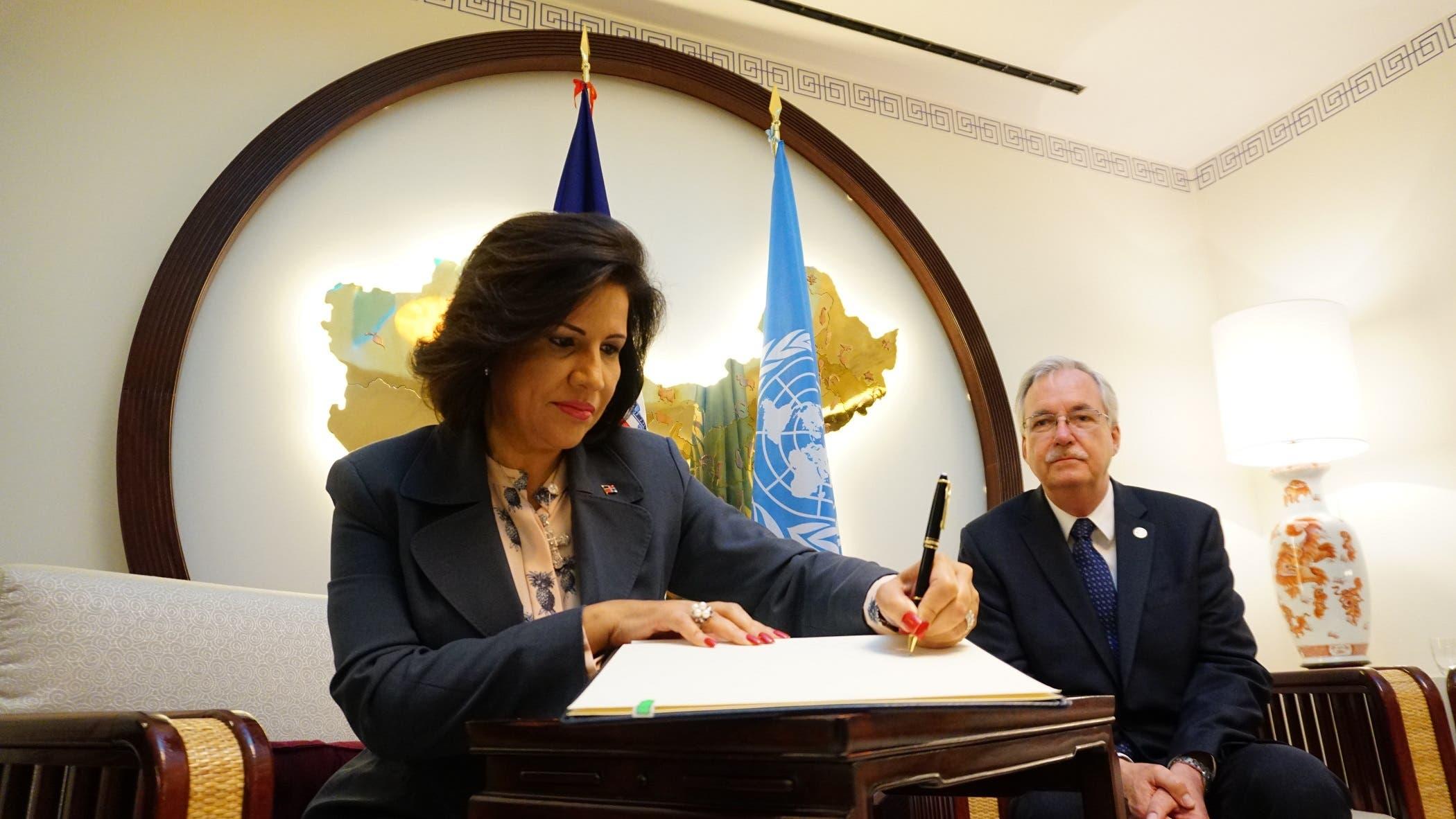 Margarita Cedeño pide ante la FAO promover acciones en favor de las agricultoras