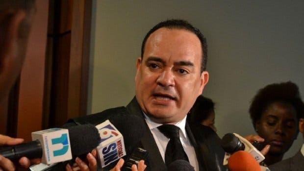 Miguel Surun Hernández, presidente del Colegio de Abogados de la República Dominicana. Foto de Archivo.