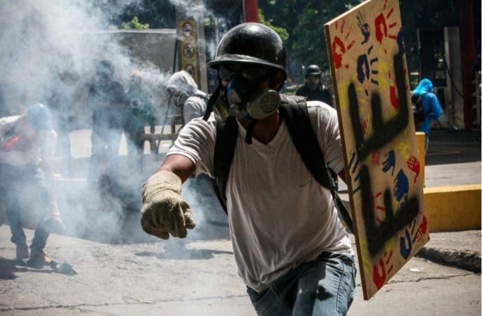 Protesta en Venezuela