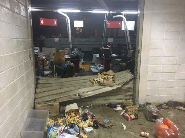 Saqueos y disturbios en Maracay luego de