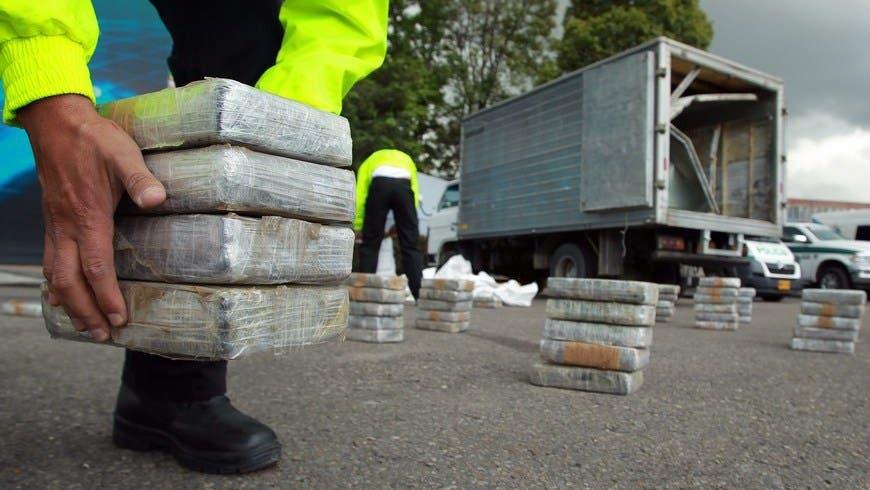 Capturan en Colombia banda distribuía drogas en RD;  incautan 20 toneladas de cocaína