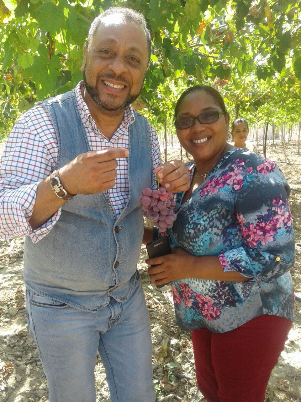 Michael Miguel: el futuro de Neiba está en la variedad de uva Red Globe