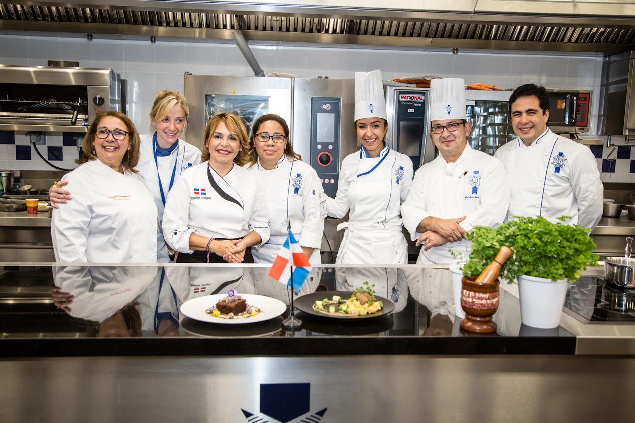 Gastronomía dominicana se presenta por primera vez en  el Cordon Bleu París