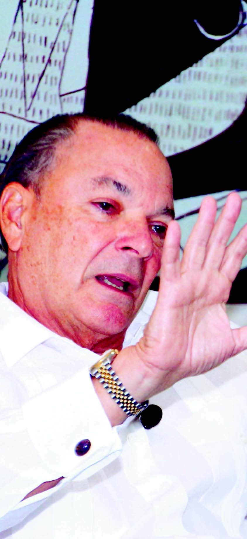 Frank Rainieri aboga por una  política de  desarrollo  turístico