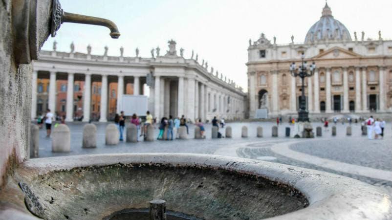 El Vaticano apaga sus fuentes por una sequía en Roma