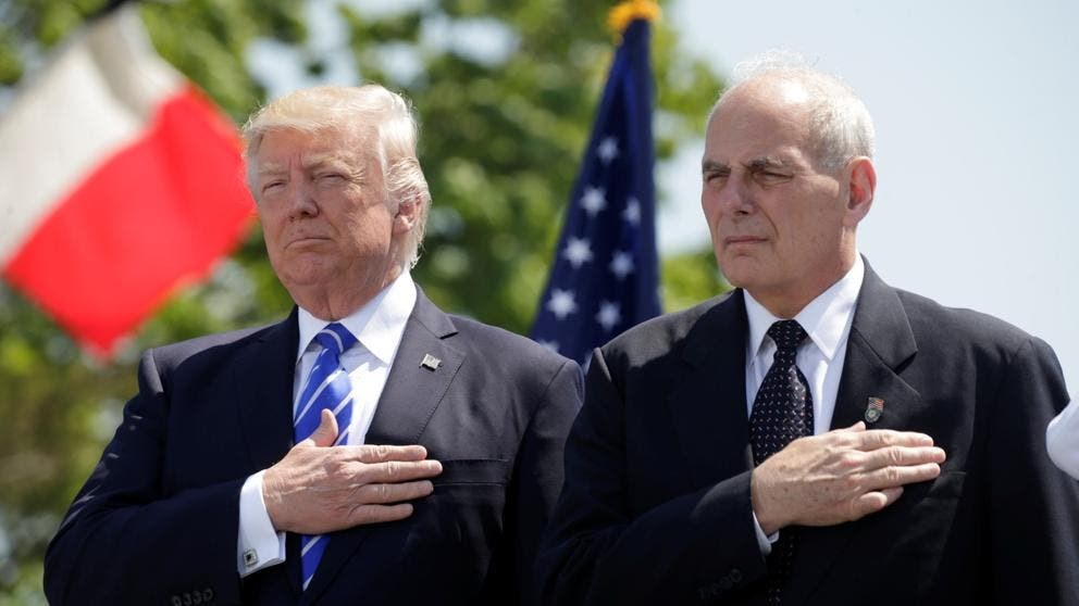 Trump nombra por sorpresa a general John Kelly como su nuevo jefe de gabinete