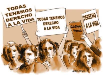 Mujeres por impunidad, el desvarío con el Código Penal