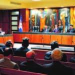 A la lectura de la sentencia, que duró casi ocho horas, solo asistieron cuatro de los implicados