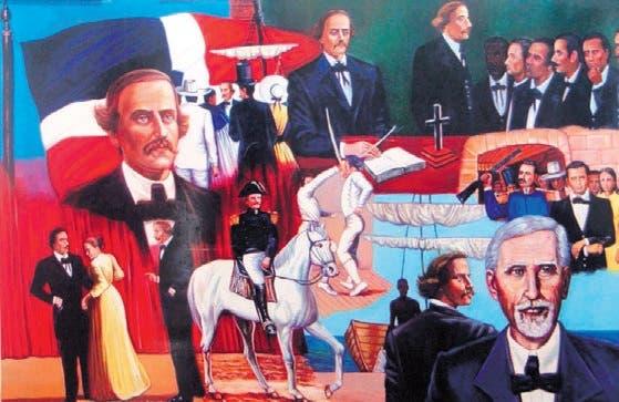 Imagenes de los integrantes  de la  organización  secreta La Trinitaria.