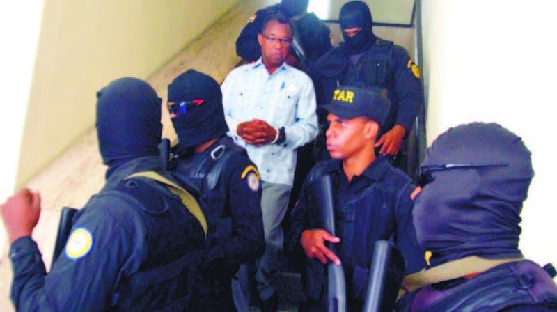 Blas Peralta es el principal acusado de la muerte del exrector de la Universidad Autónoma de Santo Ddomingo Mateo Aquino Febrillet