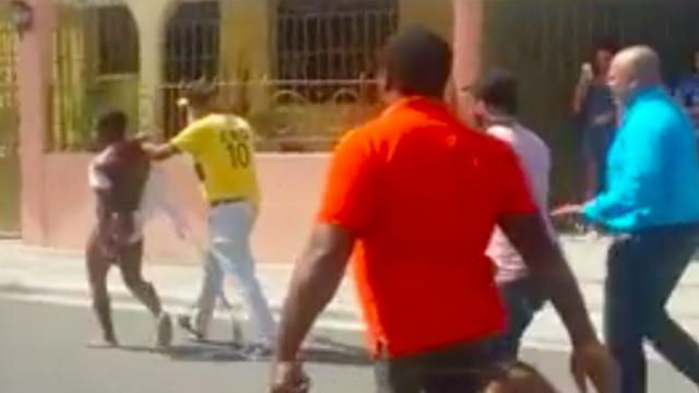 Policía detiene a dos presuntos asaltantes que serían linchados en La Romana