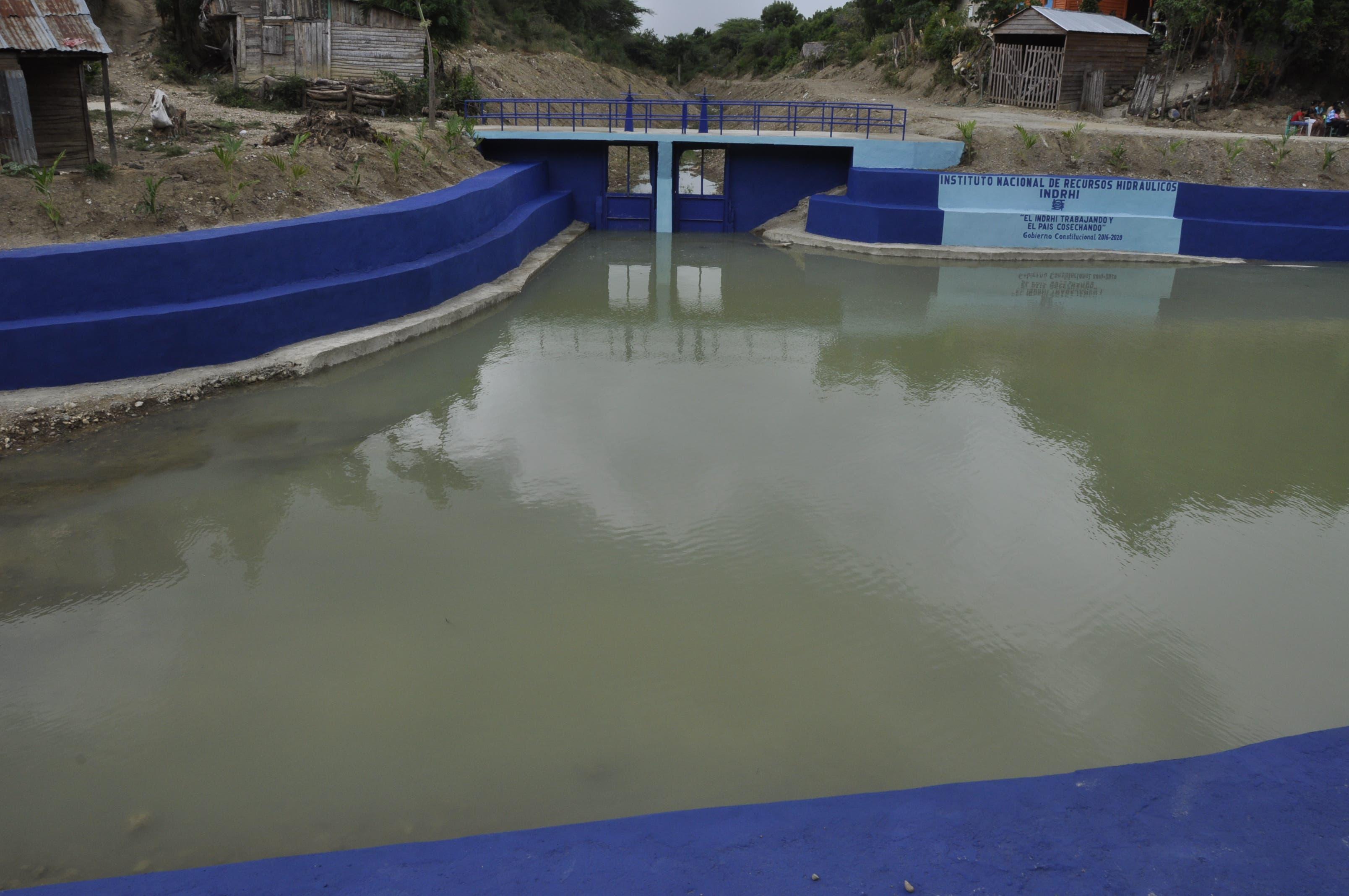 INDRHI entrega rehabilitación de obras afectadas por inundaciones en Valverde