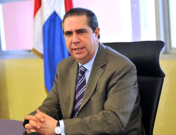 El ministro Francisco Javier García. Fuente externa.