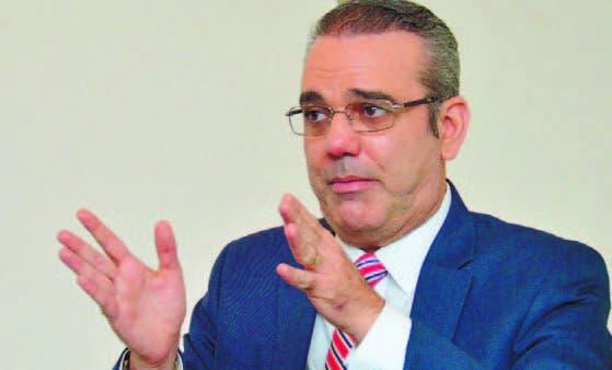 Dirigente político opositor Luis Abinader hace advertencia