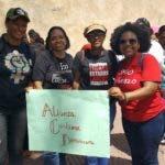 Dirigentes de Alianza Cristiana Dominicana.