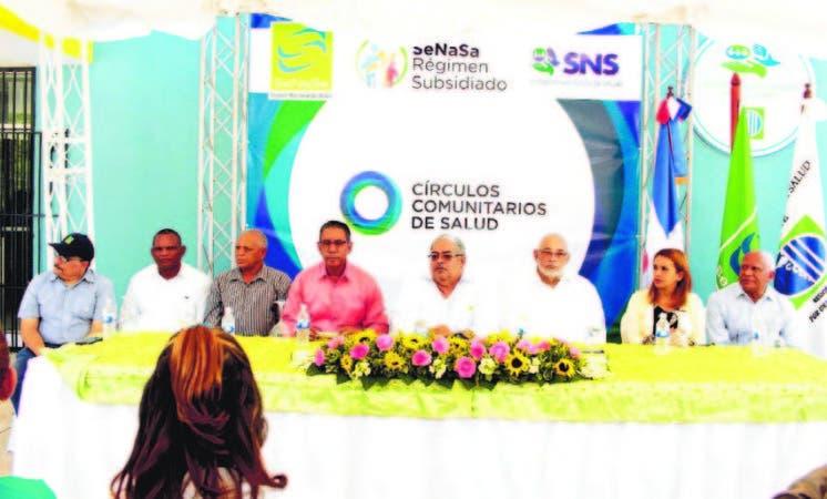 Eñ acto fue encabezado por el director de Senasa, Channel Rosa Chupany