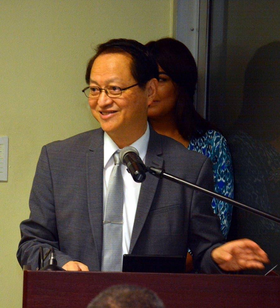 Valentino Tang, Embajador de Taiwán.