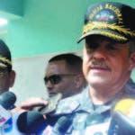 El director de la Policía Nacional, mayor general Nelson Peguero Paredes