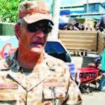 El general Sugar Puttzi Frugis, director del CESFRONT