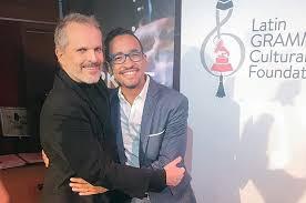 Ernesto Núñez y Miguel Bosé