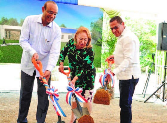Federico Domínguez, Luisa Fernández y Rafael Ovalles