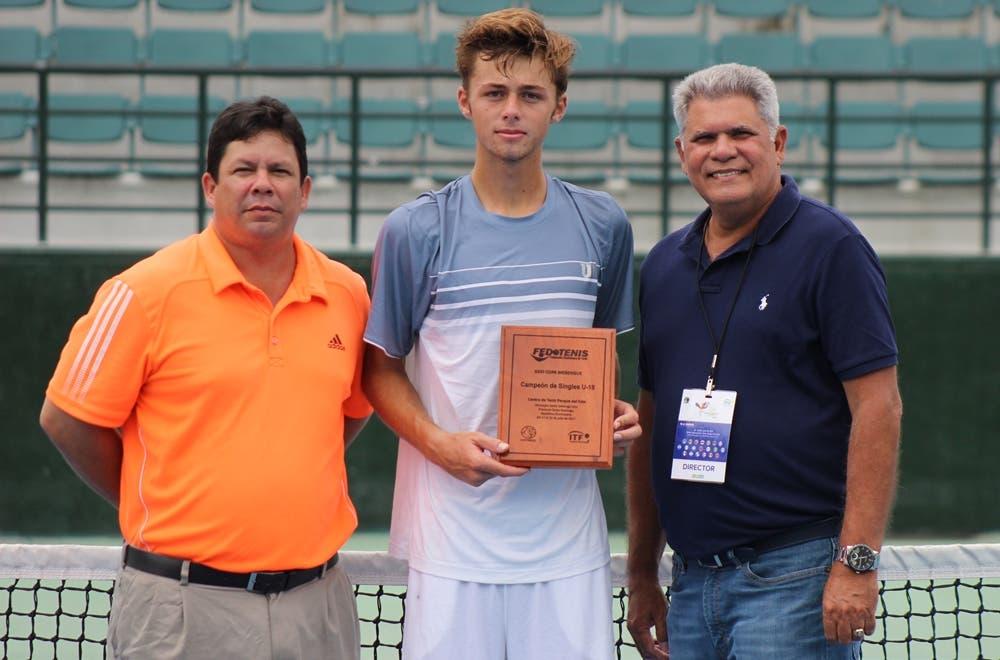 Baird, campeón Copa Merengue; Castillo termina como finalista en dobles