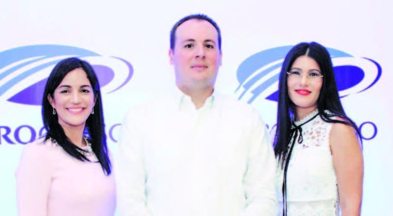 Griselda Bautista, César Alba e Irma Muñoz