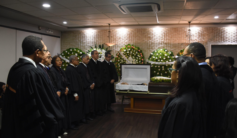 UASD rinde honras fúnebres restos doctor Ignasio Rodríguez Chappini