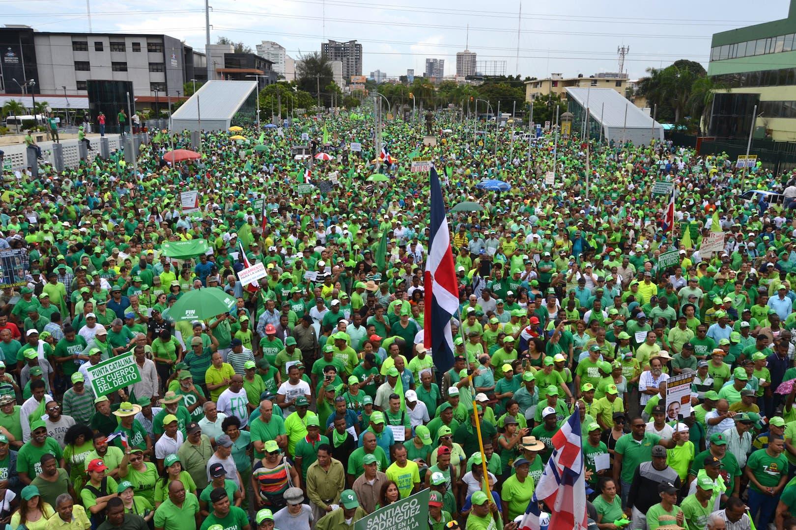 Marcha Verde deplora represión policial desatada contra manifestaciones