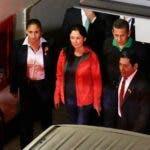 La esposa de Humala, Nadine Heredia, también ha recibido 18 meses de prisión/AFP.