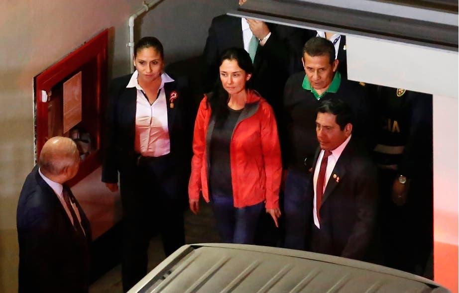 Humala es conducido al penal donde está encarcelado Alberto Fujimori